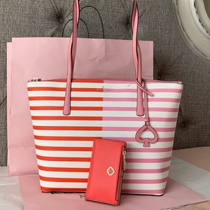 Kate Spade New York Zina Large tote and Wallet set